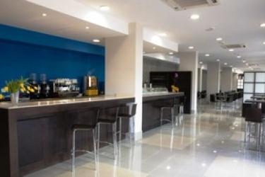 Hotel Compostela Suites: Bar MADRID