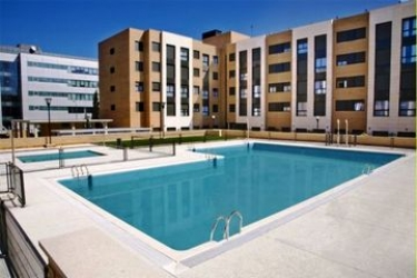 Hotel Compostela Suites: Outdoor Swimmingpool MADRID
