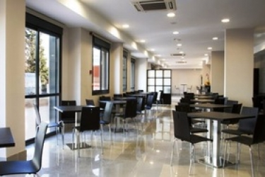 Hotel Compostela Suites: Restaurant MADRID