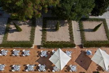 Hotel Compostela Suites: Terrace MADRID