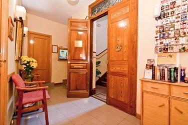Hotel Hostal Oporto: Lobby MADRID