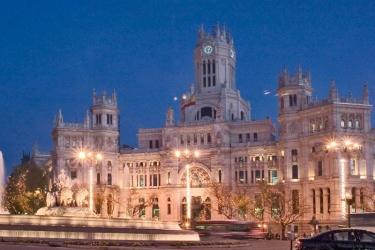 Hotel Ibis Madrid Aeropuerto: Außen MADRID