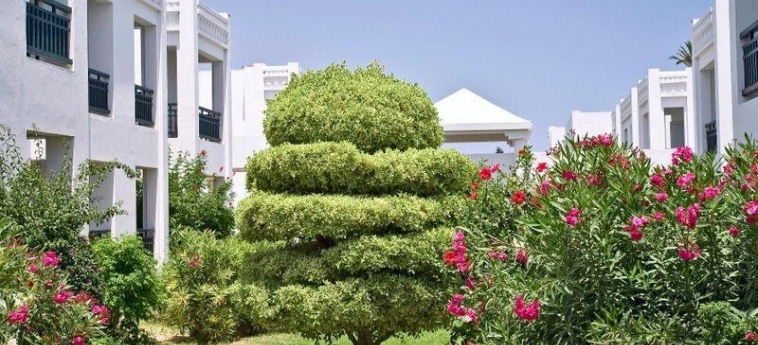 Hotel El Borj: Garten MAHDIA