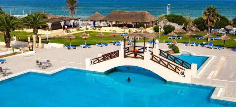 Hotel El Borj: Schwimmbad MAHDIA