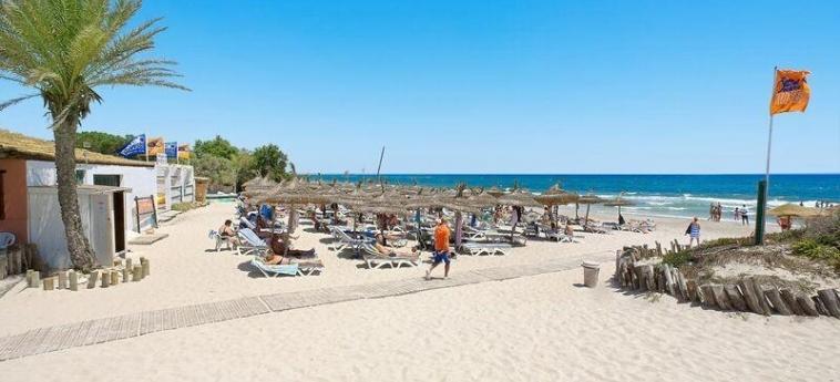 Hotel El Borj: Strand MAHDIA