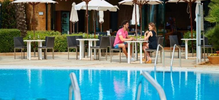 Hotel Blau Colonia Sant Jordi Resort & Spa: Terrace MAJORCA - BALEARIC ISLANDS