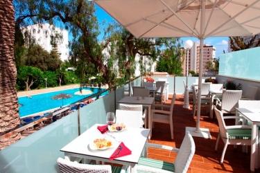 Hotel Joan Miro Museum: Terrasse MAJORQUE - ILES BALEARES