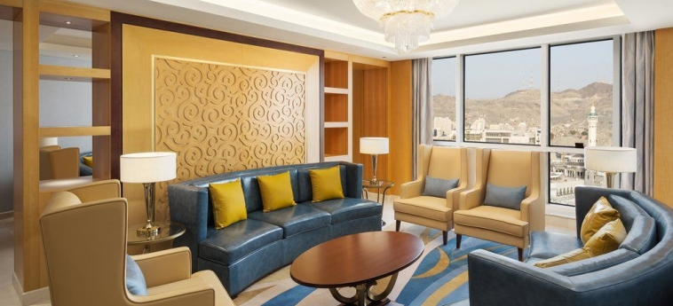 Hotel Sheraton Makkah Jabal Al Kaaba: Salle de Bains MAKKAH