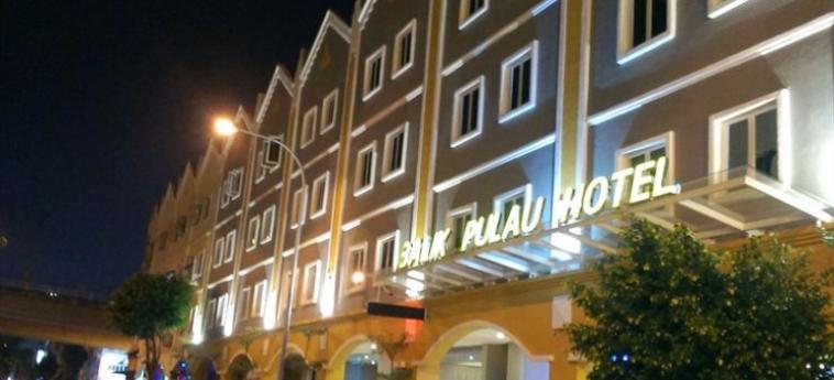 Balik Pulau Hotel: Terrasse MALACCA
