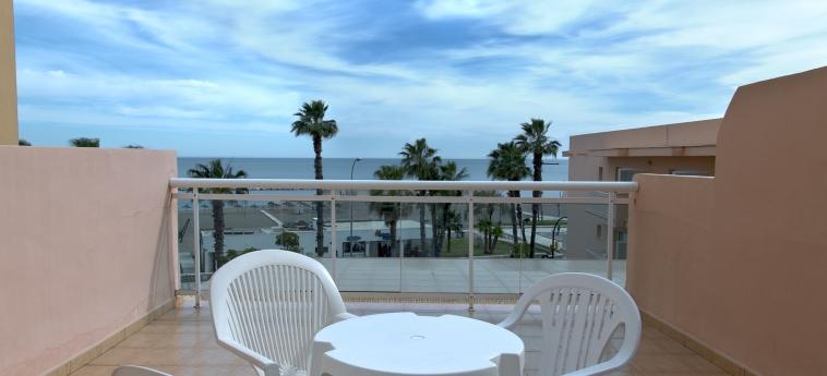 Hotel Las Vegas: Terraza MALAGA - COSTA DEL SOL