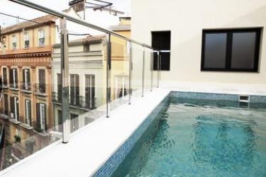 Hotel Exe Malaga Museos: Piscina Exterior MALAGA - COSTA DEL SOL