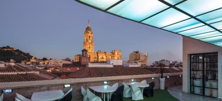 Hotel Room Mate Larios: Terrasse MALAGA - COSTA DEL SOL