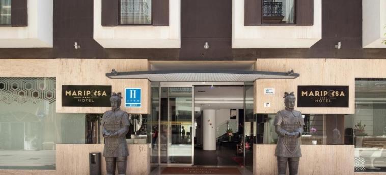 Mariposa Hotel Malaga: Eingang MALAGA - COSTA DEL SOL