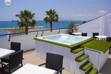 Hotel La Chancla: Terrasse MALAGA - COSTA DEL SOL