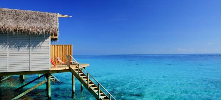 Hotel Centara Ras Fushi Resort & Spa Maldives: Detalle de la Villa MALDIVAS
