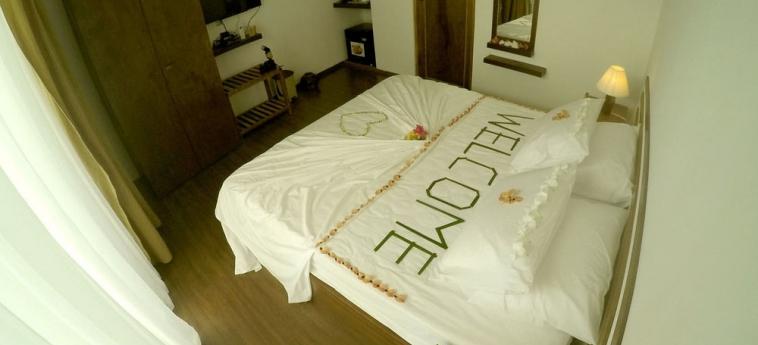 Dhiffushi White Sand Beach Hotel: Apartamento Saraceno MALDIVAS