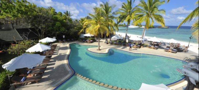 Hotel Paradise Island Resort & Spa: Swimming Pool MALDIVAS