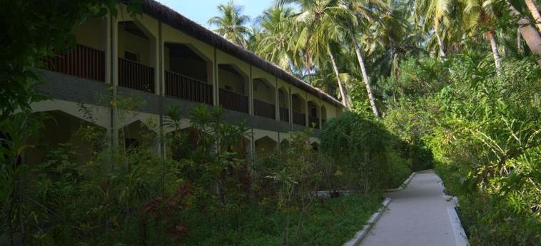 Hotel Biyadhoo Island Resort: Esterno MALDIVE