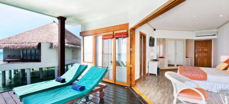 Hotel Adaraan Club Rannalhi: Veranda MALDIVE