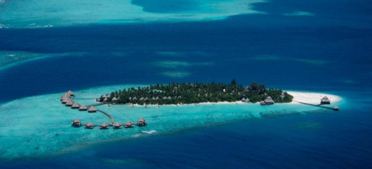 Hotel Adaraan Club Rannalhi: Vista Aerea MALDIVE