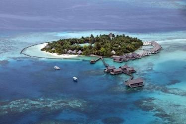 Hotel Gangehi Island Resort: Aerial View MALDIVEN