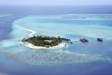 Hotel Gangehi Island Resort: Aussicht MALDIVEN