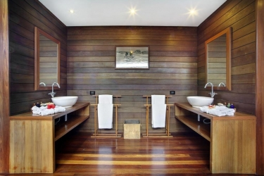 Hotel Gangehi Island Resort: Badezimmer MALDIVEN