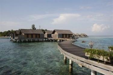 Hotel Gangehi Island Resort: Freitreppe MALDIVEN