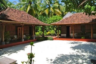 Hotel Gangehi Island Resort: Gartenaussicht MALDIVEN