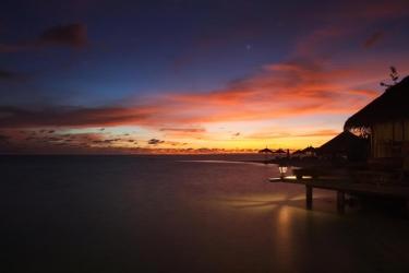 Hotel Gangehi Island Resort: Gästezimmeransicht MALDIVEN