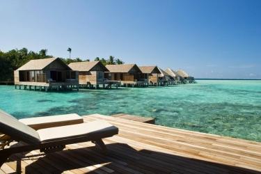 Hotel Gangehi Island Resort: Gastzimmer Blick MALDIVEN