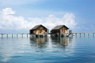 Hotel Gangehi Island Resort: Lobby MALDIVEN
