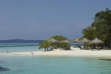 Hotel Gangehi Island Resort: Rundblick MALDIVEN