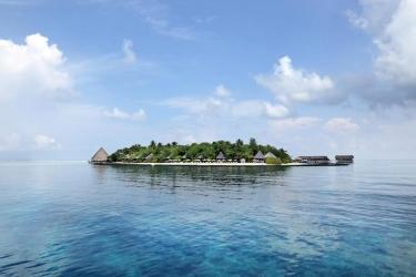 Hotel Gangehi Island Resort: Umgebund MALDIVEN