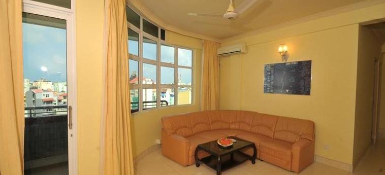 Coral Hotel And Spa: Salotto MALDIVES