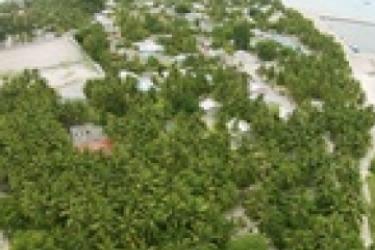 Hotel Mathiveri Inn: Balcony MALDIVES