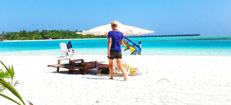 Dhiffushi White Sand Beach Hotel: Chambre - Detail MALDIVES