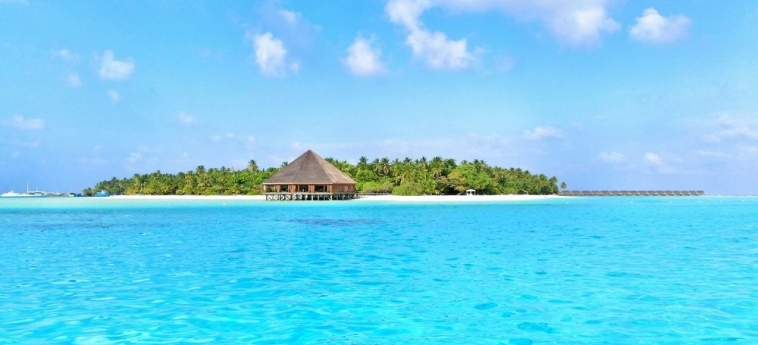 Dhiffushi White Sand Beach Hotel: Plage MALDIVES