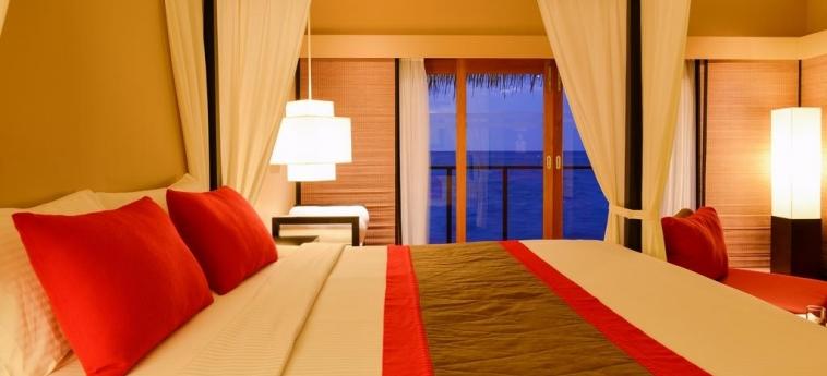Hotel Adaaran Select Hudhuranfushi: Chambre MALDIVES