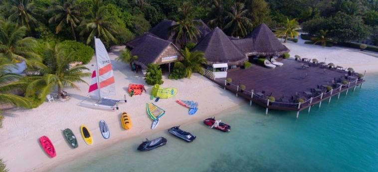 Hotel Adaaran Select Hudhuranfushi: Plage MALDIVES