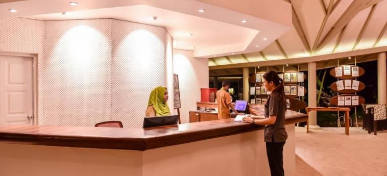 Hotel Adaaran Select Hudhuranfushi: Reception MALDIVES