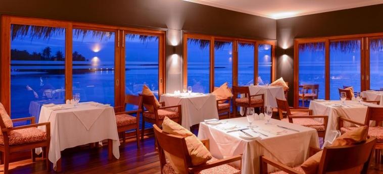 Hotel Adaaran Select Hudhuranfushi: Restaurant MALDIVES