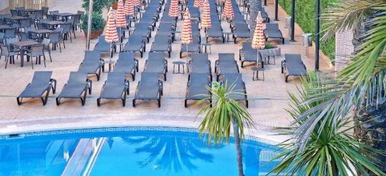 Hotel Monteplaya: Terraza MALGRAT DE MAR - COSTA DEL MARESME