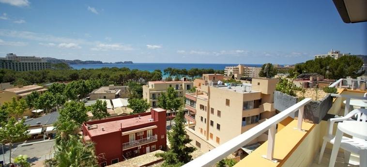 Hotel Apartamentos Seramar Sunna Park: Balkon mit Blick MALLORCA - BALEARISCHEN INSELN