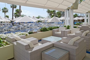Hotel Hipotels Mediterraneo: Terrasse MALLORCA - BALEARISCHEN INSELN