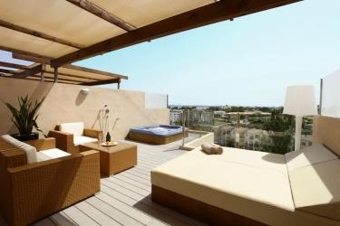 Hotel Viva Tropic: Terrasse MALLORCA - BALEARISCHEN INSELN