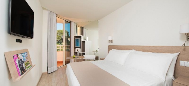 Hotel Melia Calvia Beach: Schlafzimmer MALLORCA - BALEARISCHEN INSELN