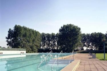 Hotel Scandic Segevang: Außenschwimmbad MALMÖ