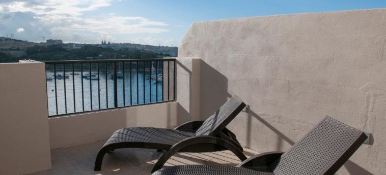 Hotel Sliema: Balcony MALTA