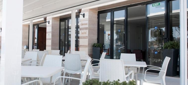 Hotel Sliema: Terrace MALTA